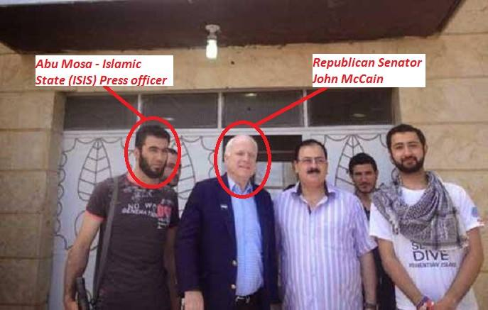 Abu Mosa and John McCain