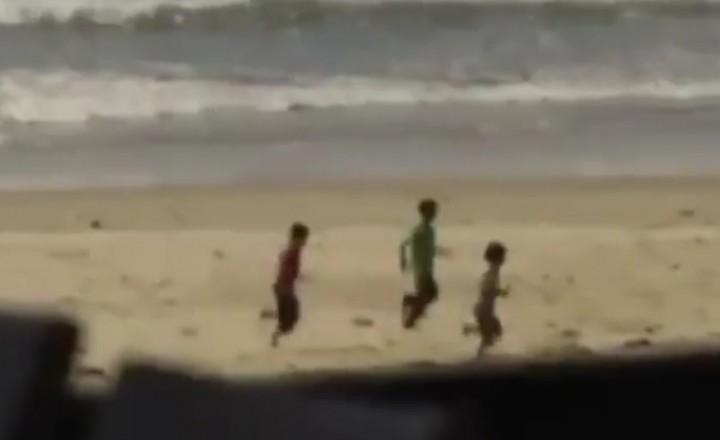 Gli ultimi istanti di vita dei 4 bambini palestinesi colpiti in spiaggia, video esclusivo
