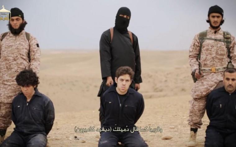 ISIS, i video delle decapitazioni di Henning e Kassig