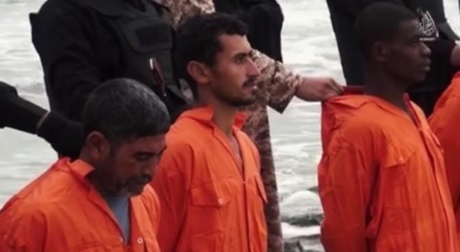 ISIS, il video della decapitazione di 21 cristiani copti egiziani