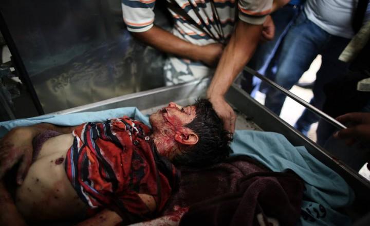 Il massacro di Gaza, foto e video shock